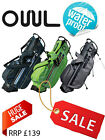 New OUUL Python Fully Waterproof Golf Carry Stand Bag 5 way top