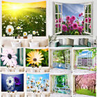 3d Scenery Floral Tapestry Wall Hanging Art Tapestries Bedroom Home Decor