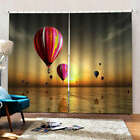 Ceiling Water Red Nice Balloon Printing 3D Blockout Curtains Fabric Window