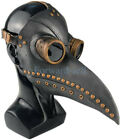 Plague Doctor Mask Birds Mouth Long Nose Beak Faux Latex Steampunk for Halloween