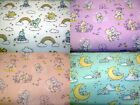 CARE BEARS - FUN BRIGHT TEDDY BEARS licensed fabric 100% cotton patchwork fabric