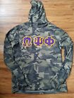 OMEGA PSI PHI FRATERNITY Camouflage Pullover Hoodie Gym Casual Hoodie 1911