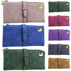 High Quality Leather Womens Bifold Wallet Phone Purse Credit Card Holders Clutch