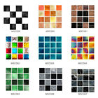 30pcs Tile Stickers Mosaic Diy Waterproof Wall Stickers Floor Home Kitchen Decor