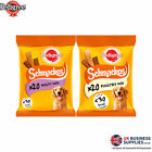 Pedigree Schmackos Dog Treats with Poultry Or Meat Variety 20 Sticks Per Pack