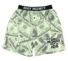 Brief Insanity Men's Cena Synthetic Silk Sublimated Boxers
