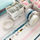 5x Washi Tape Set Masking Tape Cute Stickers School Suppliers Stationery Art DIY