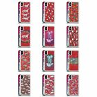 OFFICIAL MICKLYN LE FEUVRE ANIMALS 2 RED HYBRID LIQUID GLITTER FOR iPHONE PHONES