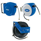 Draper Tools Retractable Air Hose Storage Reel Pneumatic Hose System 4 Sizes