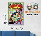 Marvel Secret Wars #3 1984 Cover Wall Poster Multiple Sizes 11x17-24x36