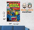 Black Panther #1 Cover Marvel Wall Poster Multiple Sizes and Papers 11x17-24x36