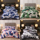 Boys Camo Comforter Set Kids Teens Camouflage Bedding Sets Twin Full Queen King