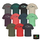 NEW DRAKE WATERFOWL DUCK HEAD LOGO T-SHIRT - SHORT SLEEVE S/S TEE SHIRT -
