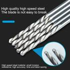 10pcs/set 0.5mm-1.2mm Mini Micro Hss Spiral Twist Drill Drilli Bit Set H6d4 V7h3