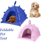 Portable Folding Dog Pet House Bed Tent Waterproof Cats Indoor Outdoor Teepee