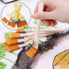 Wooden Handle Paint Brush Watercolor Brushes For Oil Painting Y1g1
