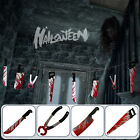 Halloween Garland Hanging Banner House Decoration Scary Weapon Props Outdoor US