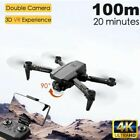 2020 NEW Professional Drone RC 1080P/4K HD Camera WIFI FPV Quadcopter+Bag
