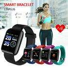 Bluetooth Smart Watch Band Sport Activity Fitness Tracker For Kids f Android iOS