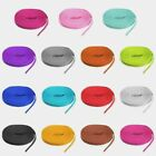 45 inch Flat Shoelaces, Athletic Shoe Laces, Sneaker Laces, Strings, Many Colors