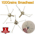 100gr Judo Broadhead with Paw ArrowHead for Targeting Small Animal Game Outdoor
