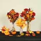 Artificial Pumpkins Flowers Table Home Decor House Prop Thanksgiving Home Decor