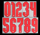 2020 2021 OFFICIAL SPORTING ID ENGLAND HOME RED NUMBERS 263mm = PLAYER SIZENational Teams - 112979
