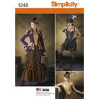Simplicity Pattern 1248 Misses' Steampunk Costumes Theresa Laquey New Uncut