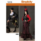 Simplicity 1819 Misses' Steampunk Costume Theresa Laquey New Uncut