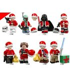 Christmas Themed Star Wars Minifigs and New Santa Claus LEGO Moc MR GOLD C3P0