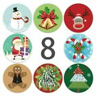 Merry Christmas Happy Xmas Thank You Labels Stickers Gift Craft Box Sticker50pcs