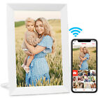 WiFi Digital Photo Frame HD IPS Touch Screen Share Picture Video Instantly 16GB