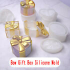 Silicone Mold Container Epoxy Resin Mould DIY Gift Jewelry Storage Box Making Nd