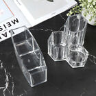 1PC Acrylic Makeup Organizer Cosmetic Holder Makeup Tools Brush Storage Box US