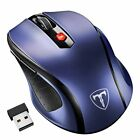 Optical 2.4G 6 Button Wireless Gaming Mouse Mice USB Receiver for PC MAC Laptop
