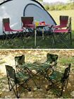 Garden Furniture Sets 4chair With Table Folding Backpack Outdoor Dining Camping