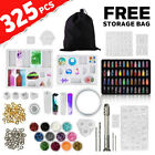 325x Diy Jewelry Mould Handmade Crystal Glue Making Set Resin Silicone Mold Kit
