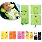 Baby Kid Car Safety Strap Cute Frog Harness Pillow Shoulder Belt Set Cushion Pad