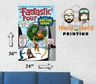 Fantastic Four #5 Comic Cover Wall Poster Multiple Sizes 11x17-24x36
