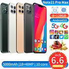 """Note21pro Max 8gb 128gb Android 10 Ram (factory Unlocked) 6.5"""" Fhd+2230*1080"""