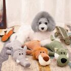 Soft Plush Dog Toys Durable Pet Puppies Chew Toy Cute Funny Dog Sleeping Toys