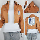 Attack On Titan Shingeki No Kyojin Scouting Legion Cosplay Jacket Costume Jage