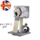High Cat Tree Climbing Tower Kitten Scratcher Scratching Post Activity Centre UK