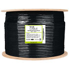 Cat6 Shielded Direct Burial, 1000ft Bulk, 23AWG Solid Bare Copper Ethernet Cable