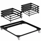 8 Pack Steel Stack Chair and Church Chair Dolly