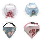 Reversible Puppy Triangle Bandage Dog Bibs Scarf Pet Saliva Towel