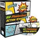 Collection of 60 Photoshop Action Scripts-Graphic Editing