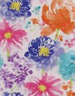 Watercolor Wildflowers Abstract Floral Vinyl Tablecloth Asst. Sizes Multi Color
