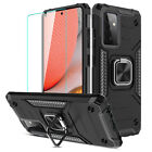 For Samsung Galaxy A52 A32 A71 5G A12 A21 A11 Ring Stand Case / Tempered Glass