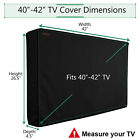 40-65 inch Outdoor TV Cover Waterproof Protector LCD LED Plasma Flat TV Screen